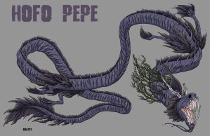Kaiju Commission - Hofo Pepe (day skin) by Bracey100
