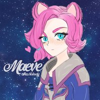 Maeve Fan art Cat Version of Game Paladins. by SheNobody