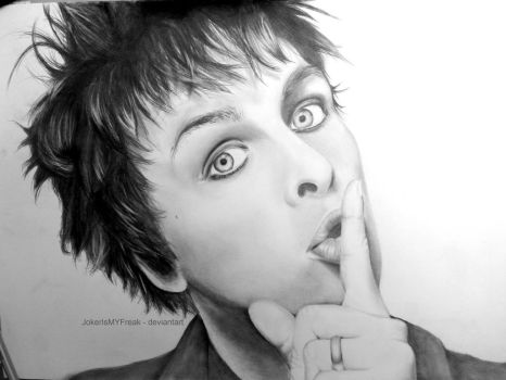 Billie Joe Armstrong by JokerIsMYFreak
