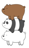[Vector] We Bare Bears by FALExD