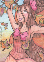 GIFT ACEO Xmas Autumn by iLantiis