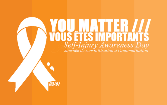 SIAD: self-injury awareness day - march 1st by imperfect-ion