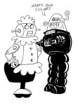Robby the Robot uses his pickup line by mentaldiversions