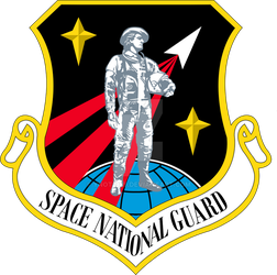 Space National Guard Patch