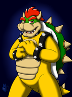 Bowser Day Portrait by Bleuxwolf