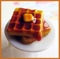 Butter Waffle Ring by cherryboop