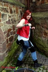 Claire Redfield : Heavenly Island by ChaoticClaire