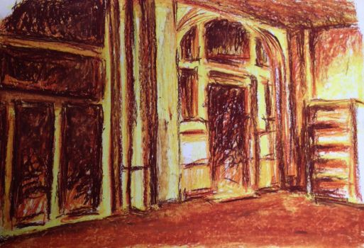 Oil pastel drawing The Academy part 4 by Barbarian-J