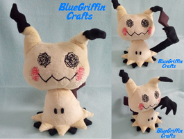 Mimikyu Plush (Pattern Available)