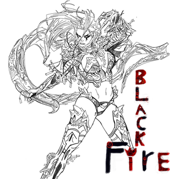 BlackFire, Infernos Soul {WIP} by imaus1