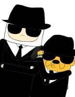 The Adventure Blues Brothers by MrCaputo