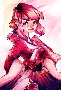 Pink Dust by ButteryTea
