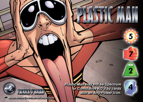 Plastic Man (Patrick O'Brian) Character by overpower-3rd