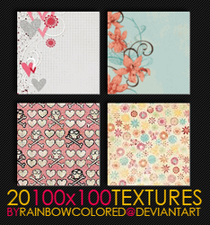 100x100 Textures 5 by rainbowcolored