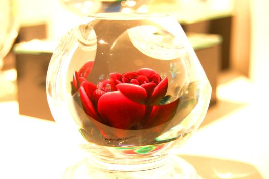 Rose paperweight by Punko0