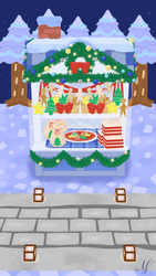 Pocket Camp Cookie Stall by SunsetSovereign