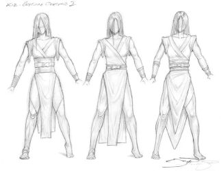 4 Jedi Kie - Costume Designs I by mavartworx