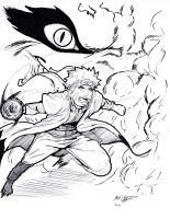 Naruto by Mark-Clark-II