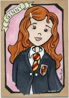 Ginny Weasley by beckadoodles