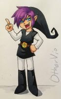 Copic Shadow Link + Speedpaint by OtherVio