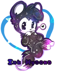 .:Galaxy Ink Hyaena:. [Pagedoll gift] by cutelittlepikakitty