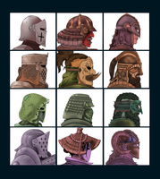 For Honor: Warrior Collection by ThisJPguy