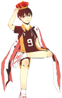 King of The Upper Court Kageyama Tobio by ama-chii