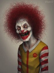 Ronald McDonald by 90swil