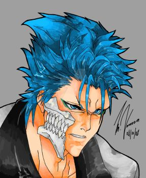GRIMMJOW by DYING-BREED-94
