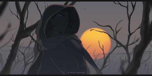 Evening's Ire by Myth-Keeper