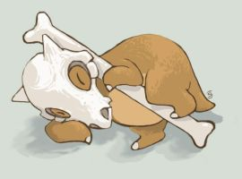 Gift: Cubone for Cresun by Rikkoshaye
