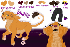 Shally ref-sheet 2017~ by Shallur