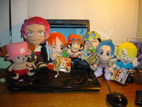 One Piece Plush Collection by Bonnie-D-Leena