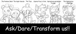Ask/Dare/Transform My Fnaf AU (ON HOLD) by TheLooneyCharboa