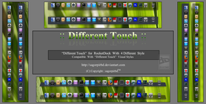 :: Different Touch :: for Rocket Dock by sagorpirbd