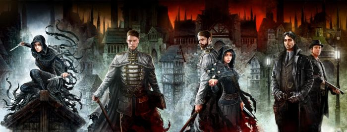 Mistborn - 4 covers in 1 artwork by DominikBroniek
