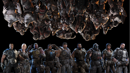 Gears 3 Rotatable Wallpaper by Believe-Achieve