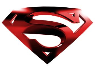 Superman Logo with White BG by kftapout