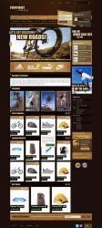 Footprint eCommerce Template by creatticon
