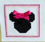Minnie Close Up by VickitoriaEmbroidery