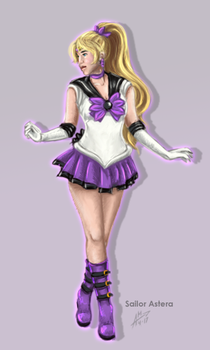 Ghya Senshi Sailor Astera by DianaHold