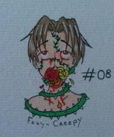 #08 Goretober - plant growth by Foxy-Creepy