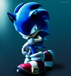 Sonic by Fentonxd