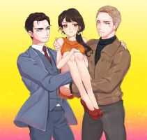 -The Man from U.N.C.L.E.- by abububux
