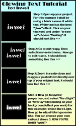 Glowing Text Tutorial-PSP- by Inwe1