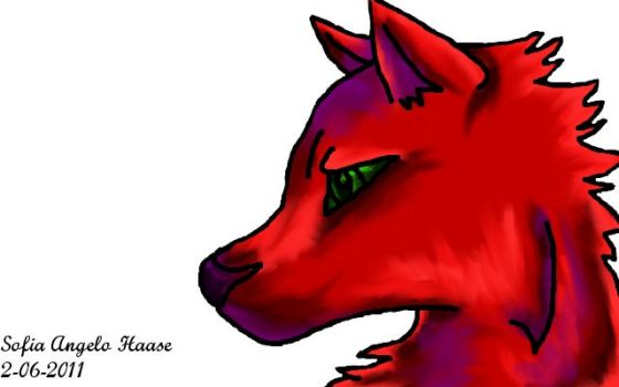 Color Wolf by SofiaHaase