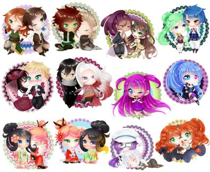 Love Chibi Collection III by Jusace