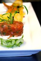 Tomato Cucumber Salad by chiziwhiteafrican