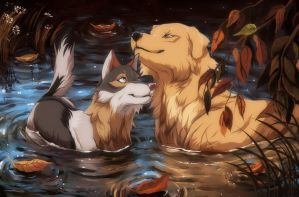 love in the water by GeoSaiko1267