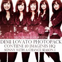 Photopack Demi Lovato Sonny With a Chance Season 1 by MiicaLR